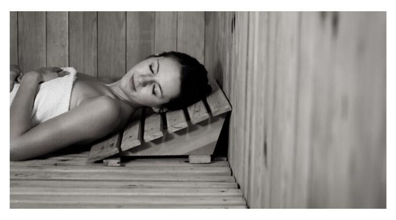 Comment se passe une séance de sauna ?