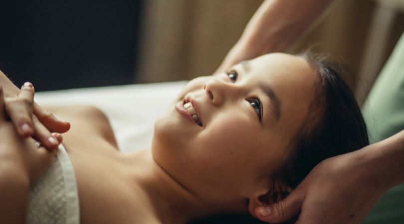 Les enfants et le massage